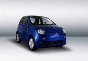 Bellier voiture sans permis bleu méditerrannée