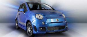 Bellier voiture sans permis bleue
